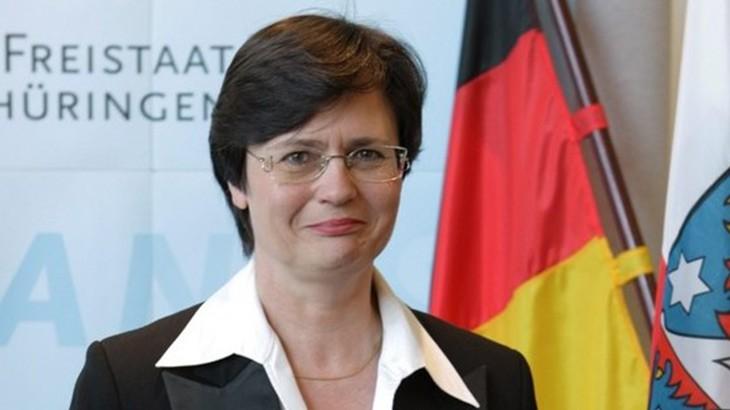 Christine Lieberknecht im Gespräch mit Marion Schneider