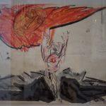 Ausstellung von Christine Schneider in der Auerstedter Friedenskirche
